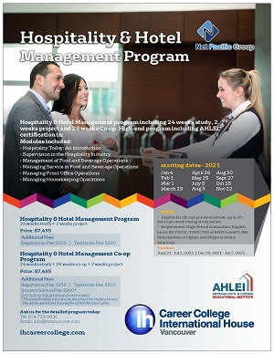 Hospitality & Hotel Management Co-op